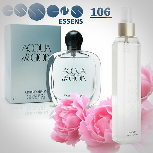 "Спрей для тела парфюмированный ""Giorgio Armani - Acqua di Gioia"" - №106"