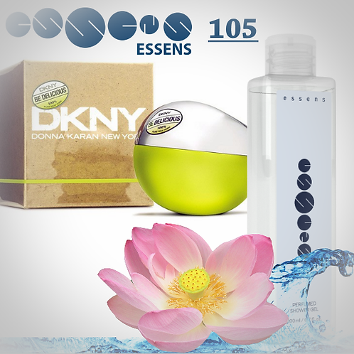 """Гель для душа парфюмированный """"Donna Karan DKNY - Be Delicious"""" - №105"""