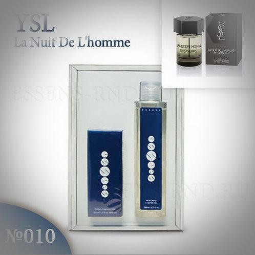 """Подарочный набор Essens духи + гель """"Yves Saint Laurent - La Nuit de l`Homme"""""""