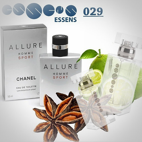 "Chanel - Allure Homme Sport "" № 029 - Essens (эквивалент)"