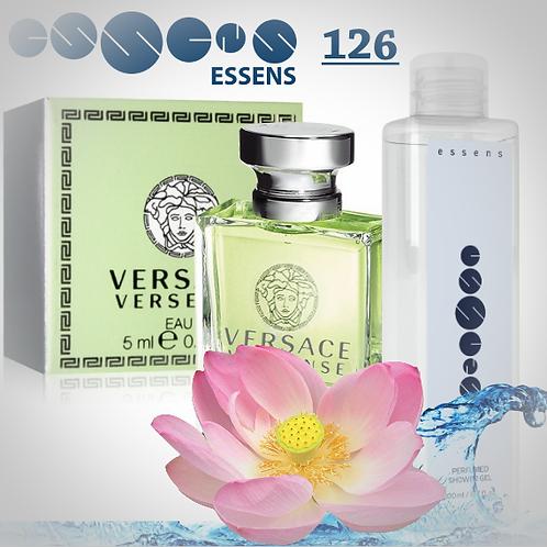 """Гель для душа парфюмированный """"Versace - Versense"""" - №126"""