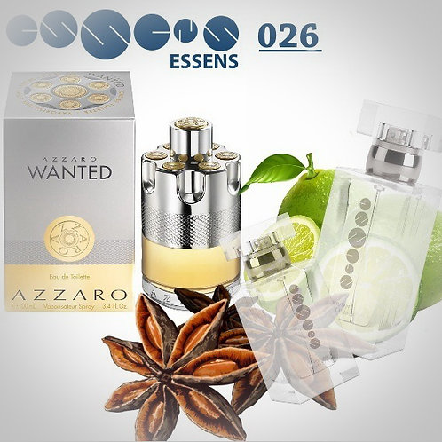 """Wanted - Azzaro"" № 026 - Essens (эквивалент)"