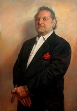 """Justin"" commissioned portrait"
