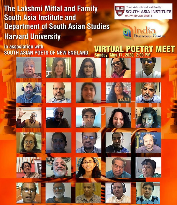 24th Annual Harvard India Poetry photo.j