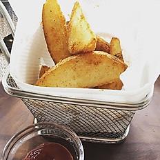 小食-紐奧良風味脆薯(附番茄醬)