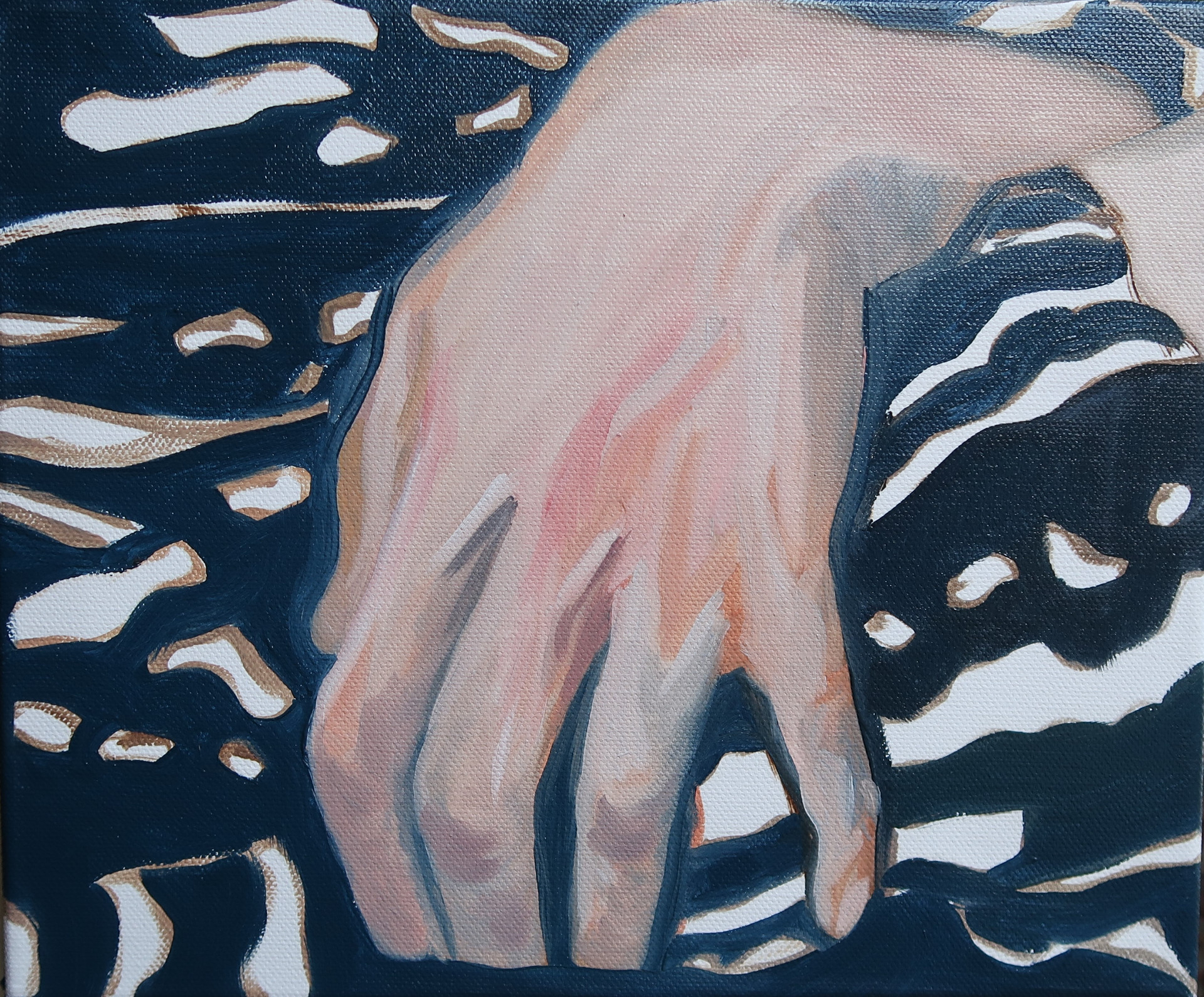 Dirty Hands  _ Natacha Van de Reck _ 2020