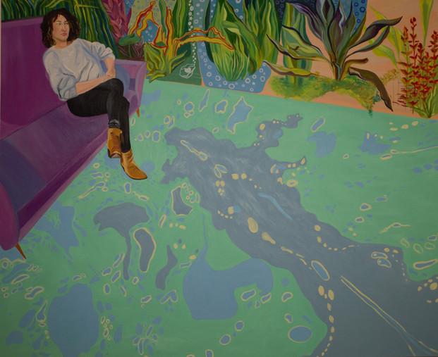 Did you drop acid in the paint? _ Natacha Van de Reck _ 2019