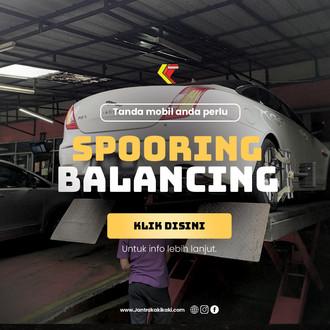 Pertanda Mobil Anda Perlu Spooring Balancing