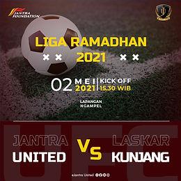 Jantra United VS Laskar Kunjang