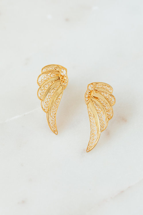 Up in the Sky Wing Earrings
