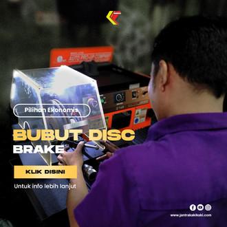 Bubut Disc Brake Buat Apa?