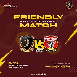 Jantra United VS Gagak Rimang