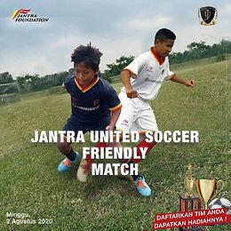 Laga Amal Friendly Match 2020