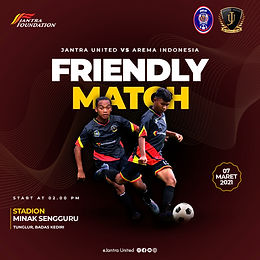 Jantra United VS Arema