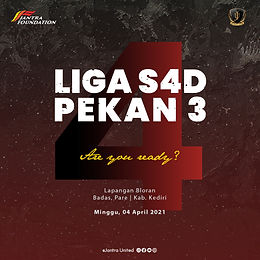 Pekan Ketiga Liga S4D 2021
