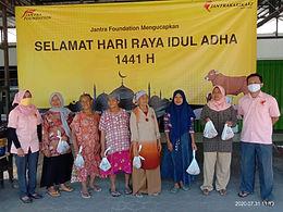Perayaan Idul Adha 1440 Jantra Foundation