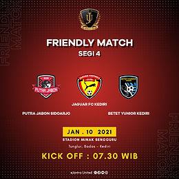 Friendly Match Segi Empat