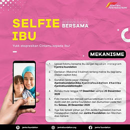 Lomba Foto Selfie Bersama Ibu