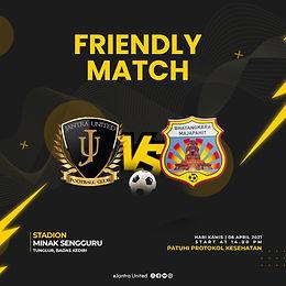 Friendly Match VS Bhayangkara Majapahit