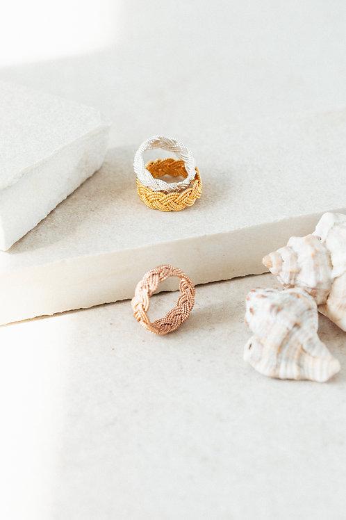 Infinity Braid Ring