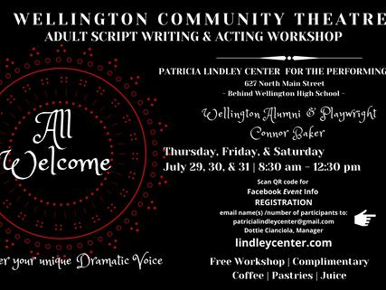 SUMMER WORKSHOP:  Wellington Community Theater