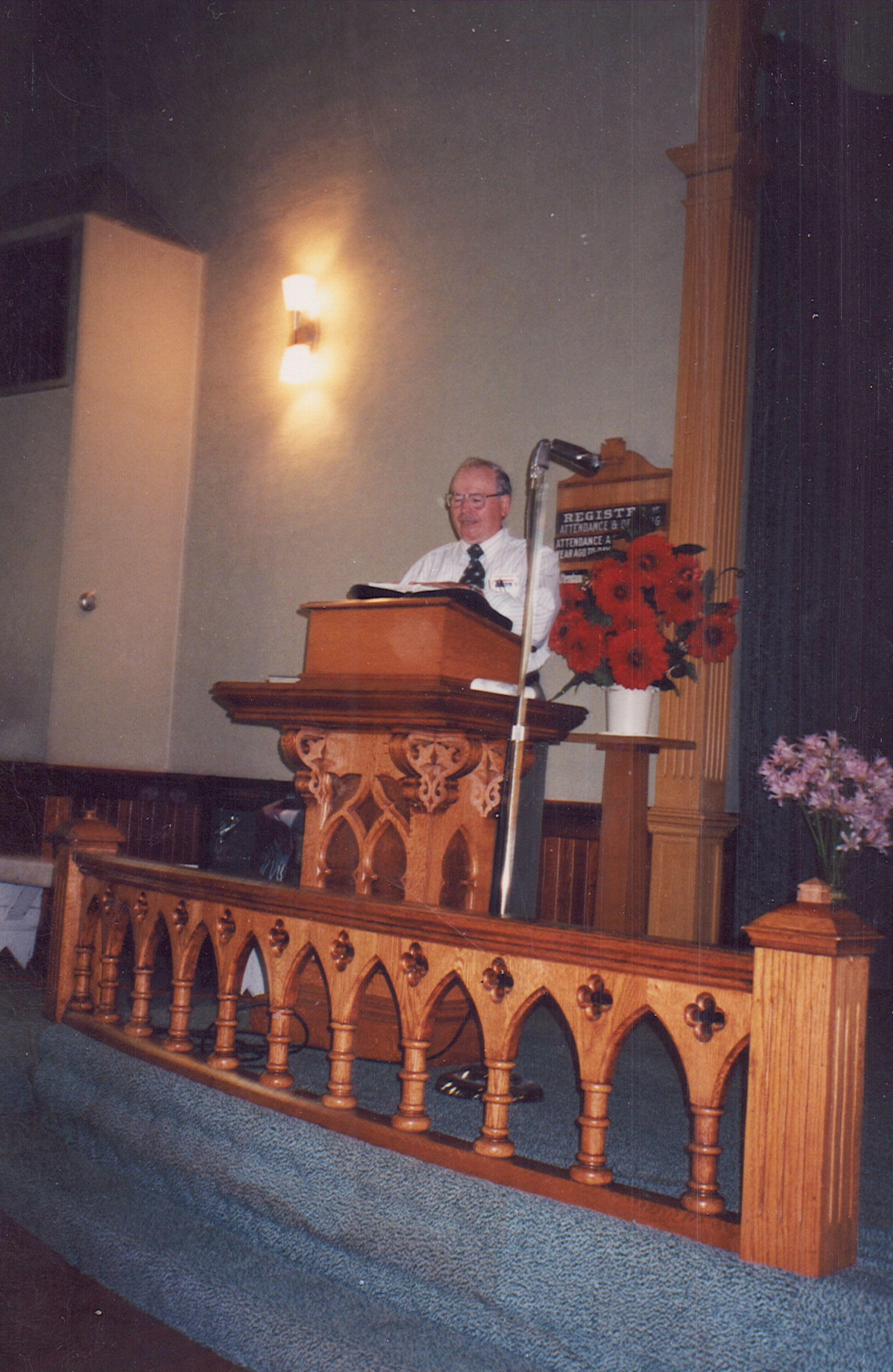 1998 Rev. Luverne Snyder