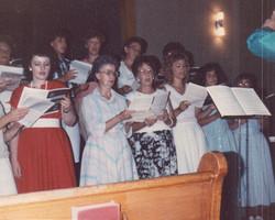 Salem Fest Choir 1987