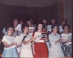 1987 Salem Fest Choir