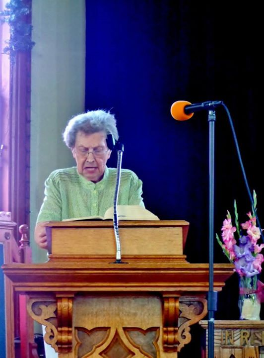 2013 Jane Miller reading scripture