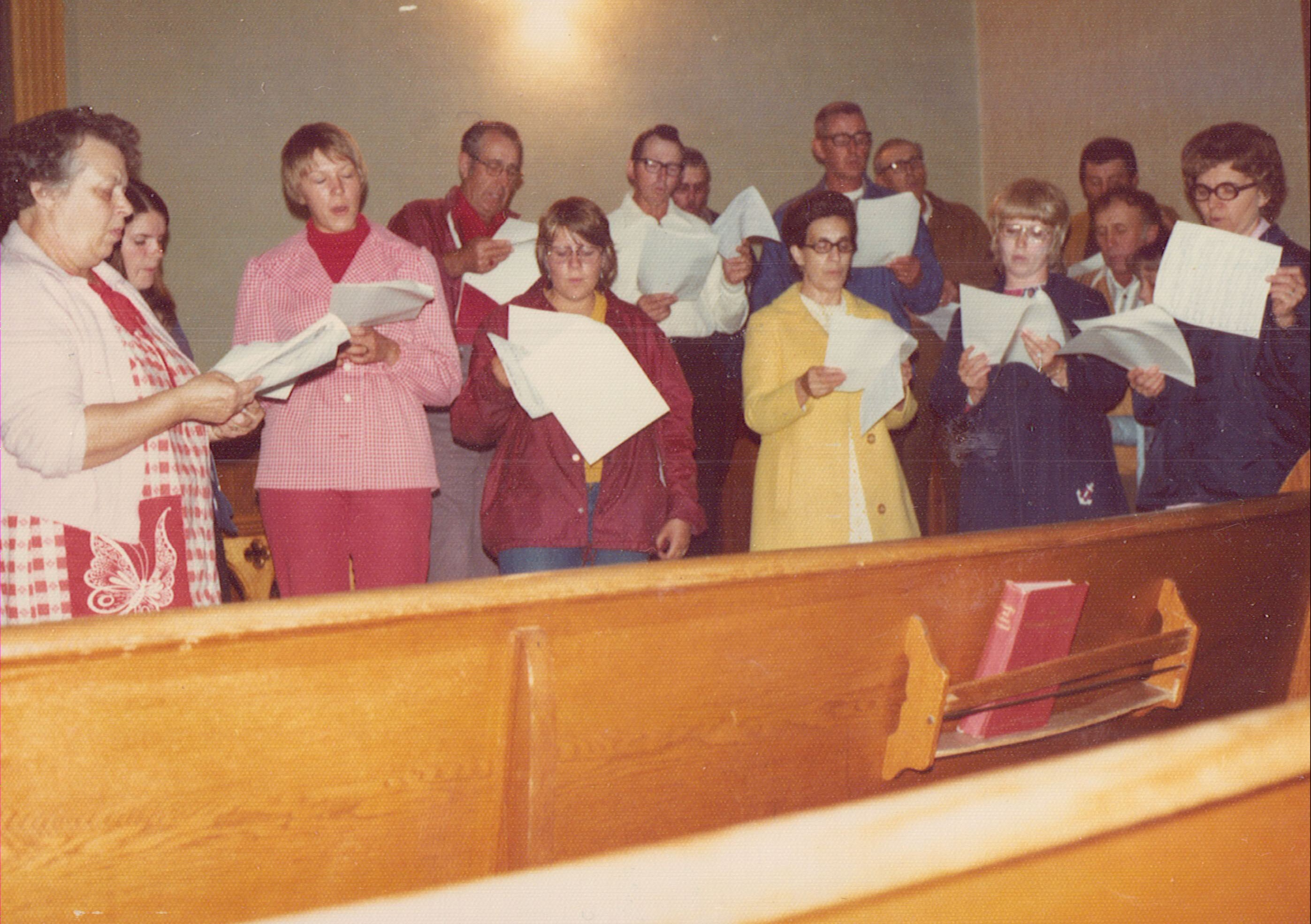 1975 Salem Choir