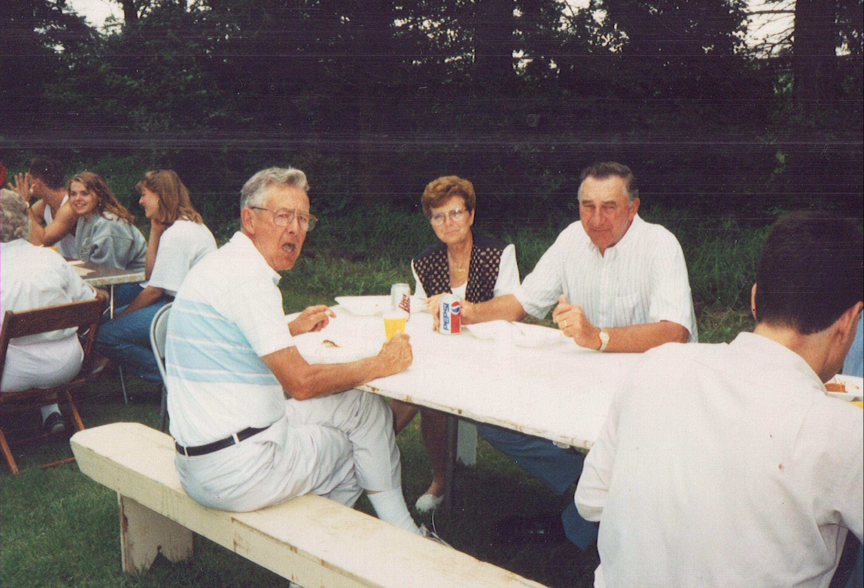 1995 Bob Heitke, Mary & Marv