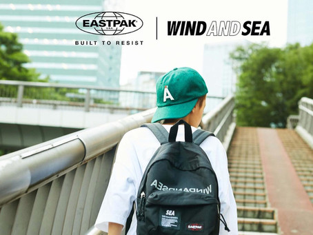 EAST PAK × WIND AND SEA コラボコレクション発売!