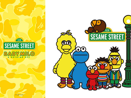 BAPE® × SESAME STREET コラボコレクションが発売!