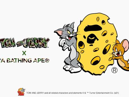 A BATHING APE® × TOM and JERRY コラボコレクションが発売!