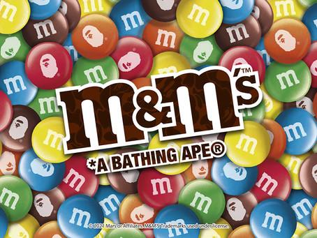 BAPE® × M&M'S™ コラボコレクションが発売!