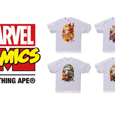 "A BATHING APE® ""MARVEL"" Collection 発売!"
