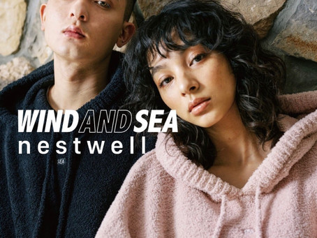 nestwell × WIND AND SEA コラボコレクションが発売!