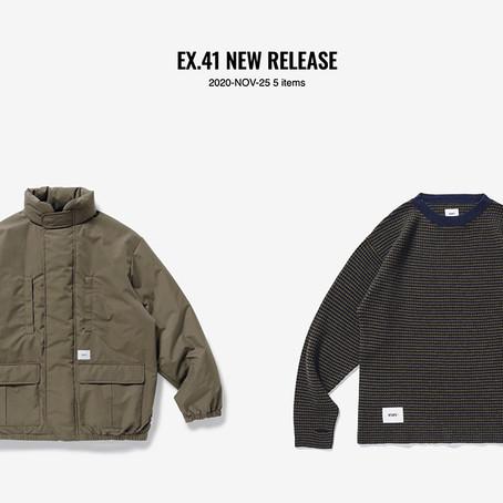 EX.41 NEW RELEASE 2020-NOV-25 5 items