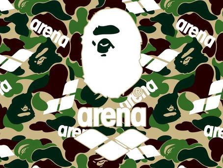 BAPE® × arena コラボコレクションが発売!
