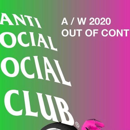 Anti Social Social Club 2020AWコレクション発売!