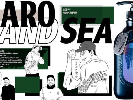 MARO × 左ききのエレン × WIND AND SEA トリプルコラボレーション!
