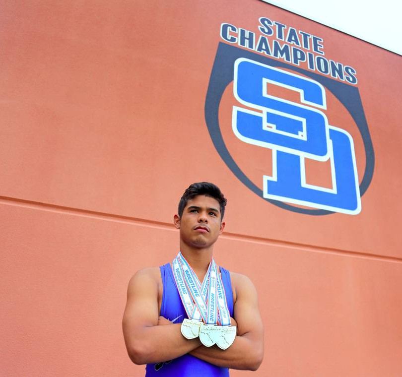 3x State Champion Bretli Reyna continues South Dade Legacy.