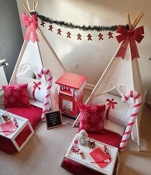 Christmas teepees