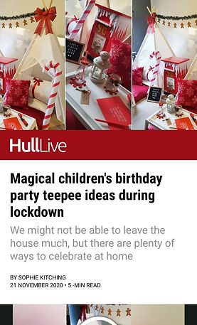 Hull Daily Mail Article