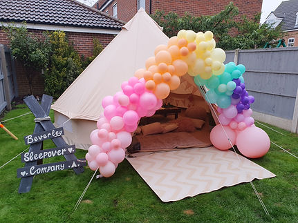Unicorn bell tent