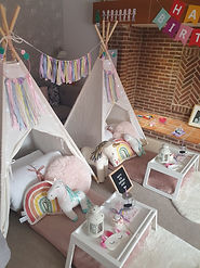 Unicorn teepees