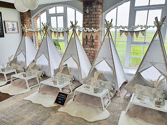 Simply scandi teepees