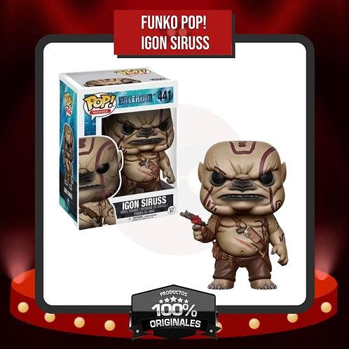 Funko Pop! Igon Siruss (441) en Caja
