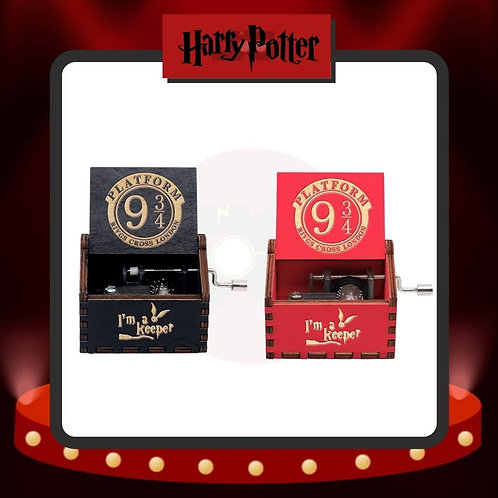 Cajas Musicales Harry Potter Tipo 3