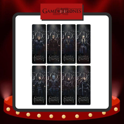 Marcapáginas PVC  Game of Thrones